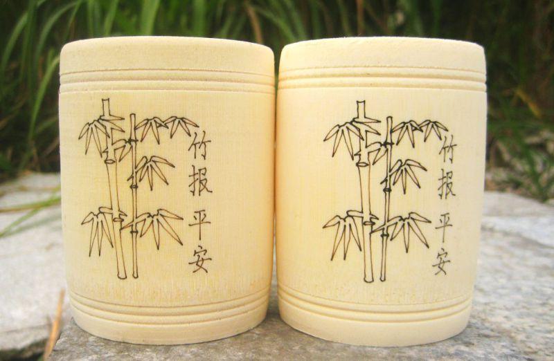 竹子激光雕刻样品