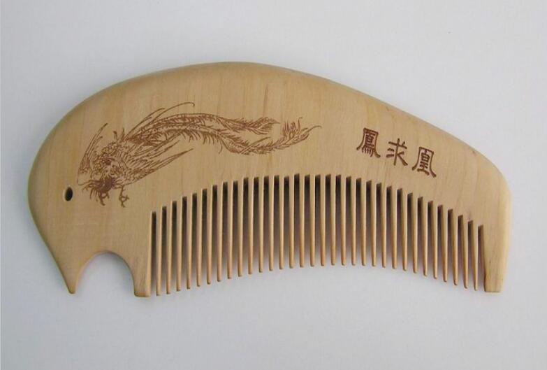 木头激光雕刻样品2